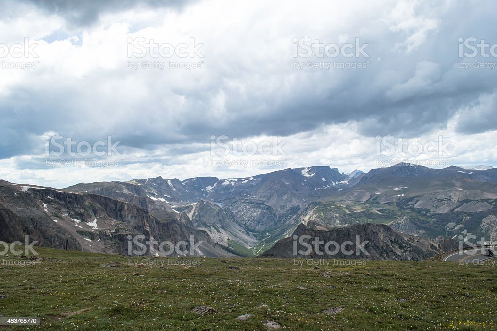 Beartooth Highway stock photo