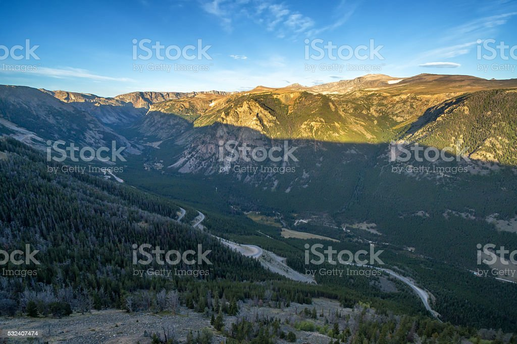 Beartooth Mountains stock photo
