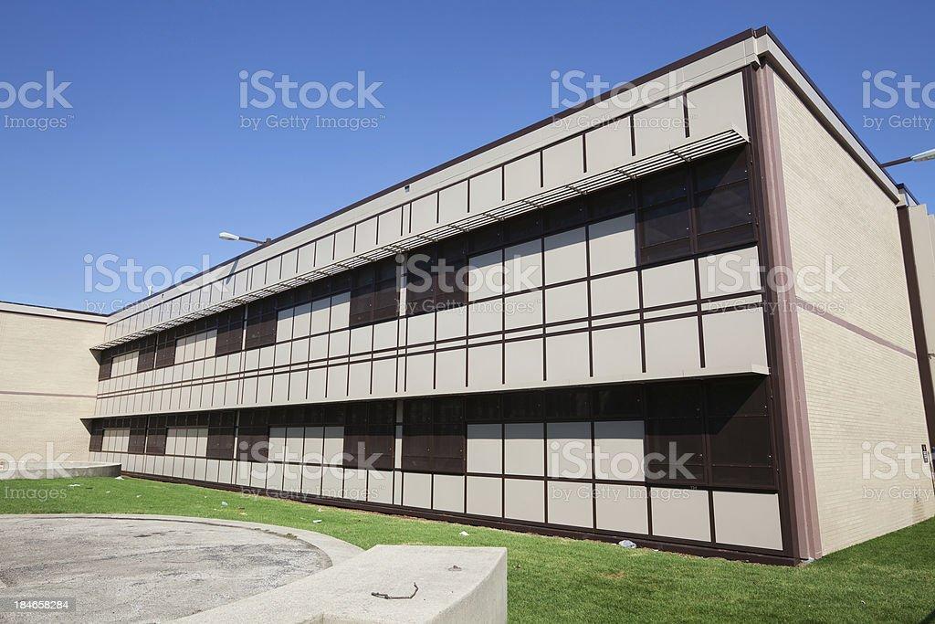 Beasley Elementary Magnet Academic Center in Washington Park, Chi royalty-free stock photo