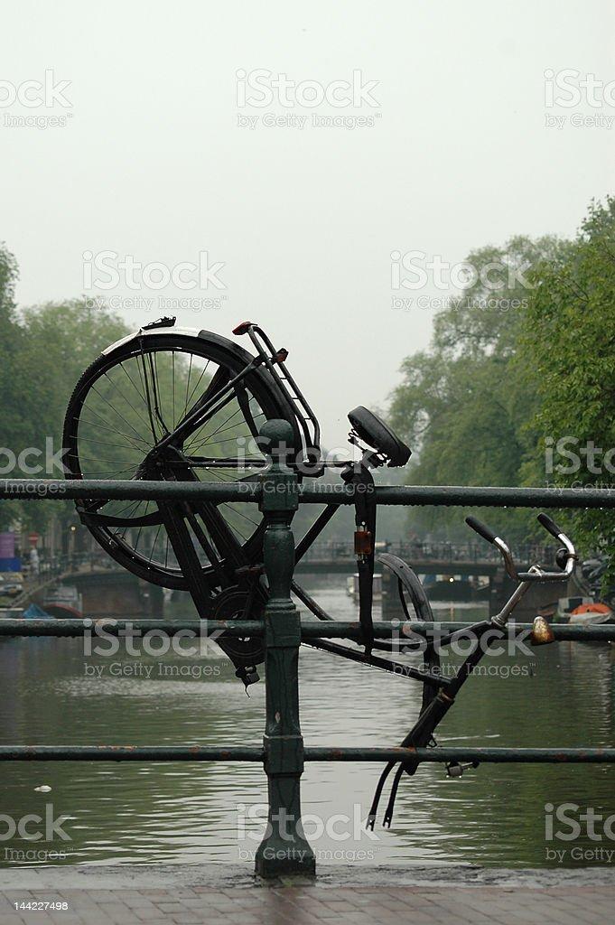 Beaten Bike royalty-free stock photo