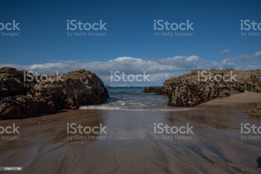 Beatiful beach stock photo