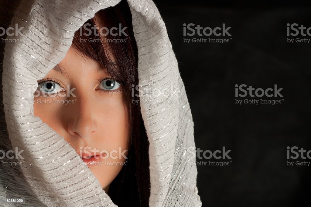beatiful look, beatiful eyes stock photo