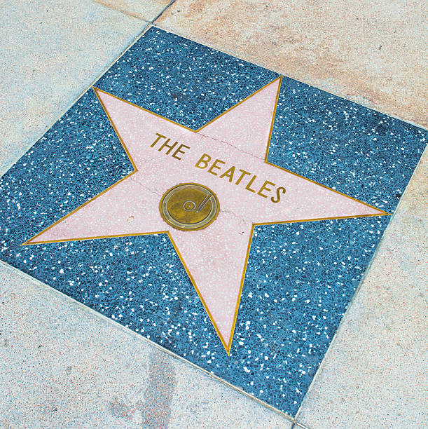 beatles - beatles band stock-fotos und bilder