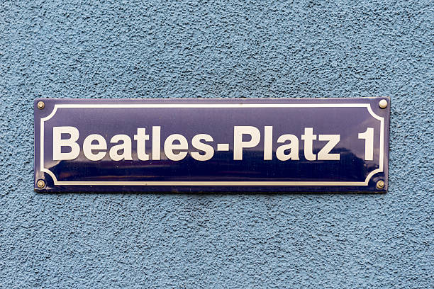 beatles-platz-hamburg - beatles band stock-fotos und bilder