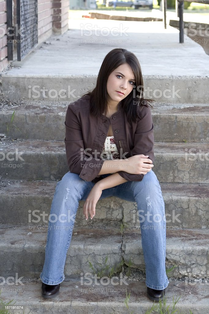Beatuiful Girl royalty-free stock photo