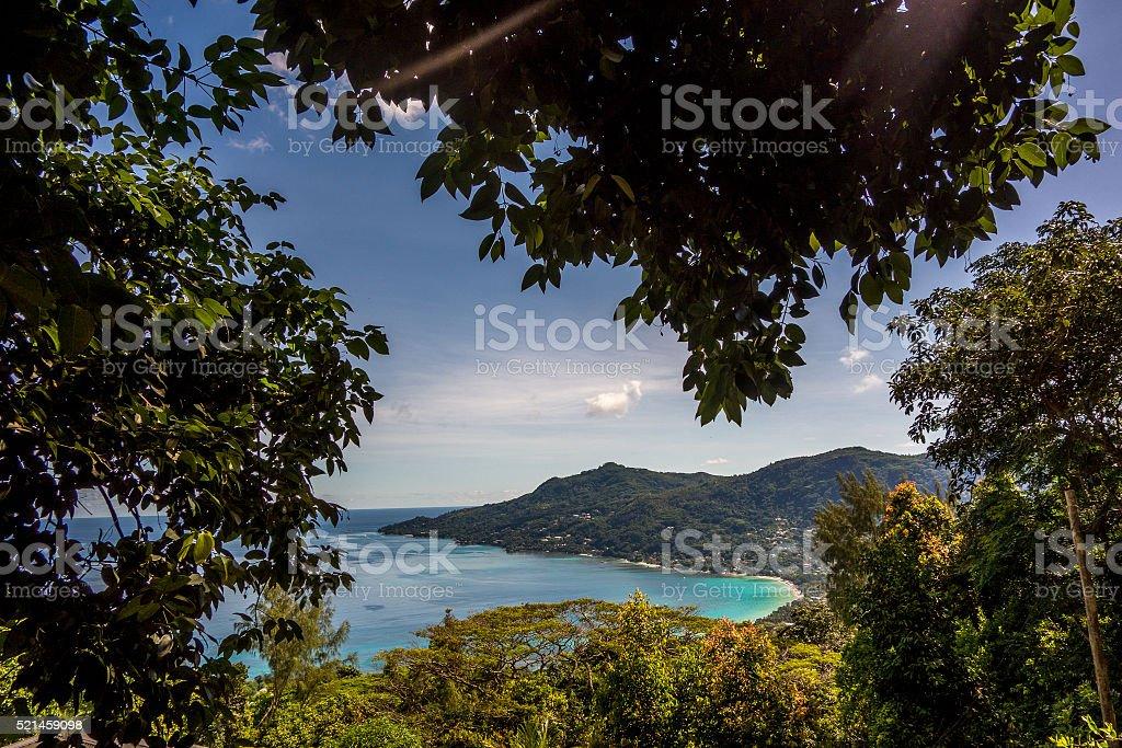 Beau Vallon - Mahe - Seychelles stock photo