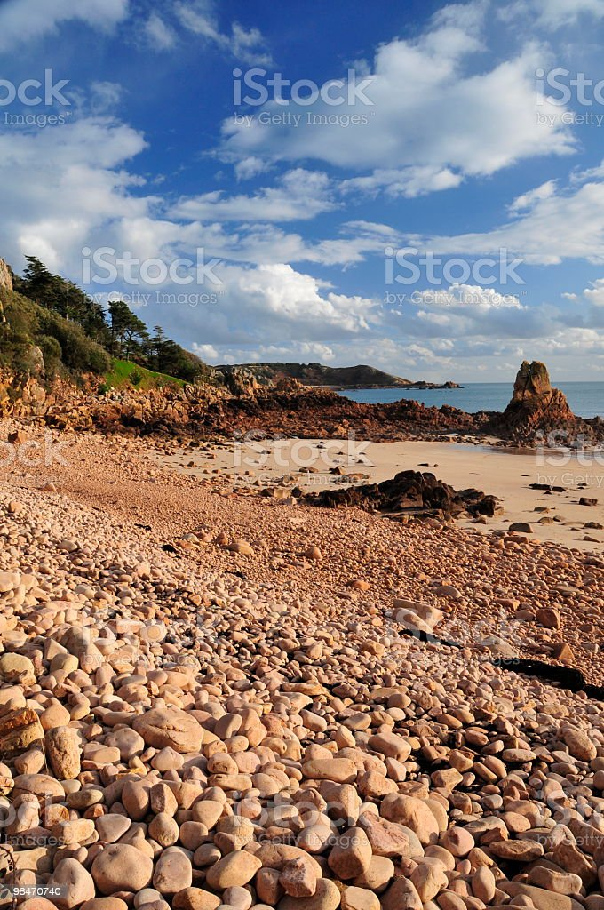 Beauport,Jersey royalty-free stock photo