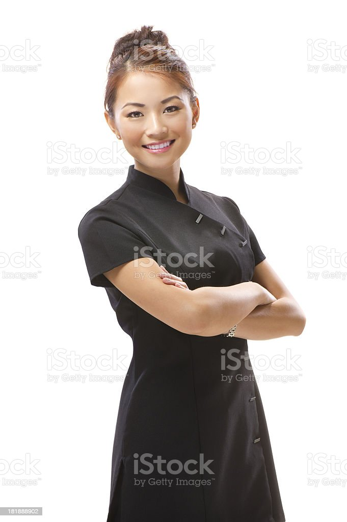beautician young beautician portrait 20-24 Years Stock Photo