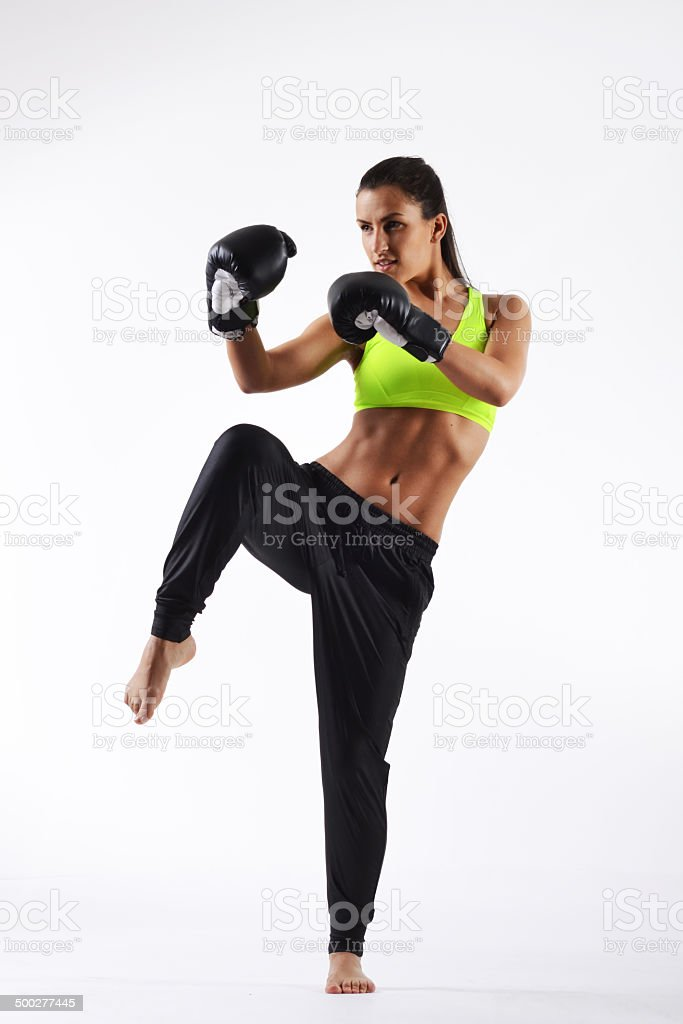 beautifu fitness woman stock photo