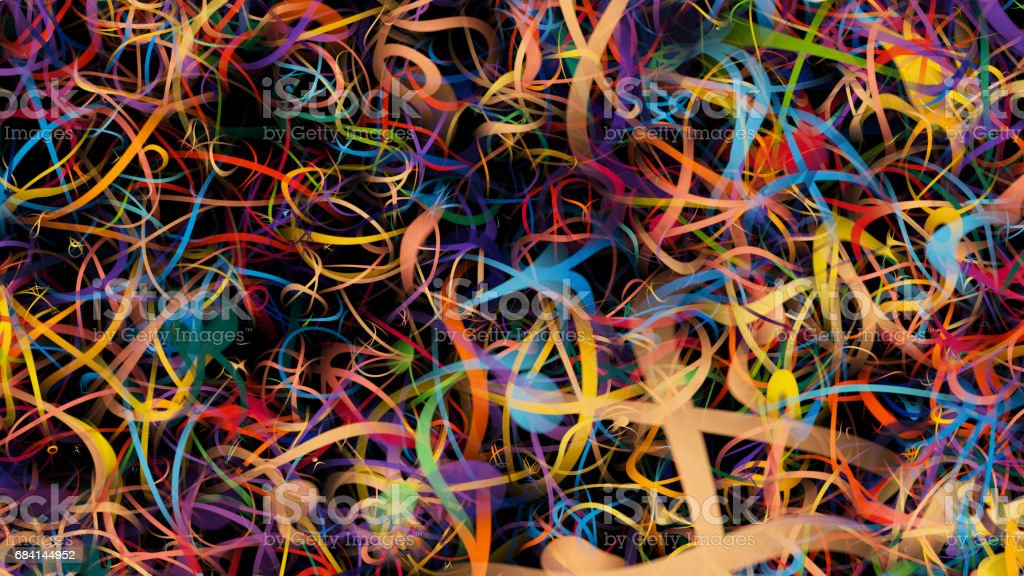 Beautiful abstract blurred background with defocused lights foto stock royalty-free