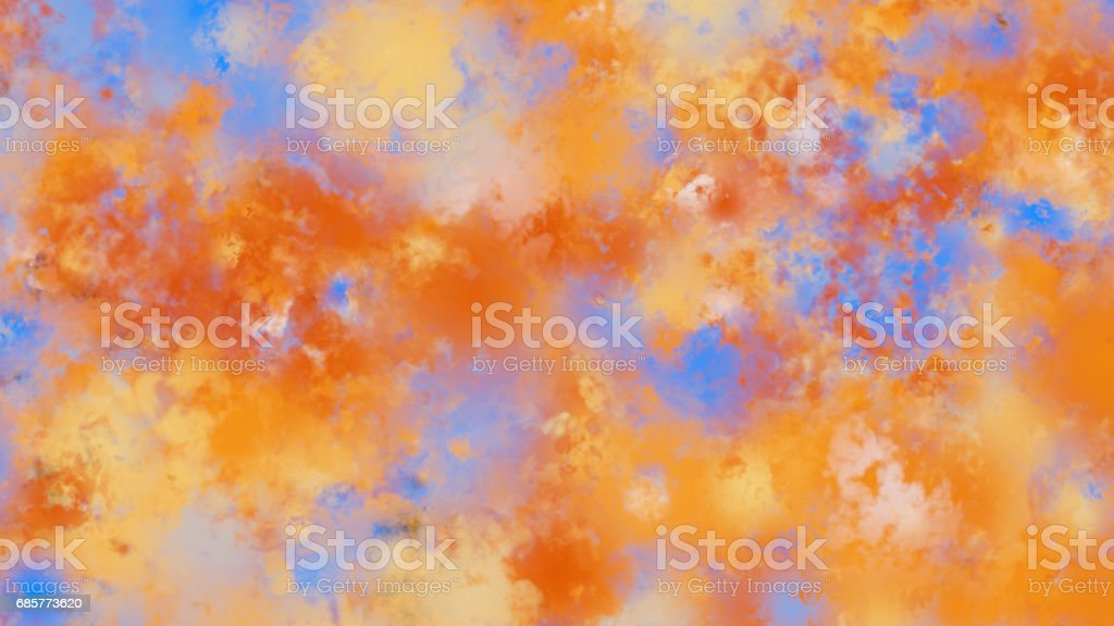 Beautiful abstract blurred background with defocused lights Lizenzfreies stock-foto