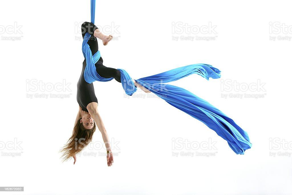 Beautiful acrobatics stock photo