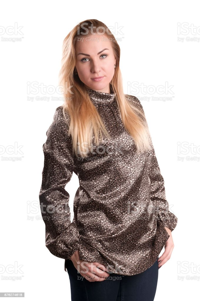 beautiful adult woman portrait stock photo