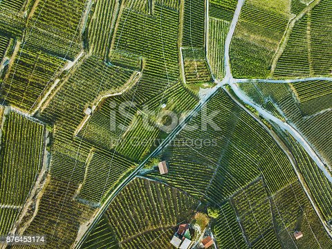 istock beautiful aerial landscape of wine yards 876453174