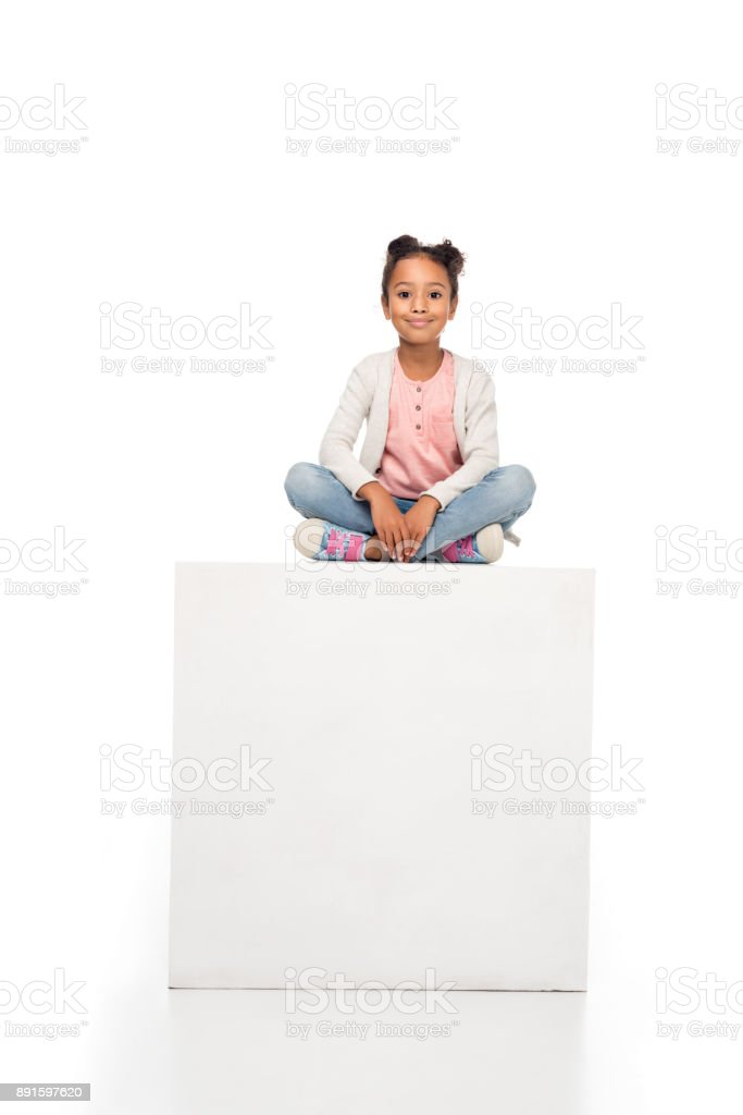 beautiful african american child royalty-free stock photo