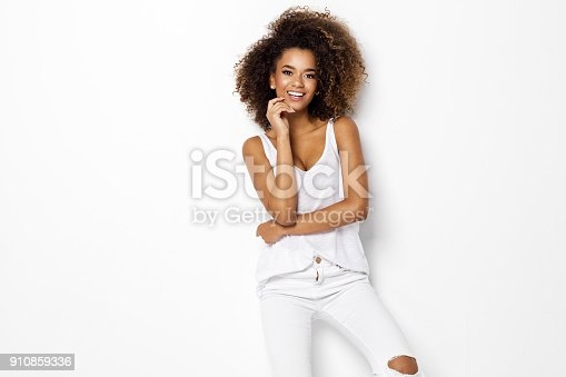 166407266istockphoto Beautiful african american female model 910859336