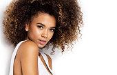 istock Beautiful african american female model 910863212