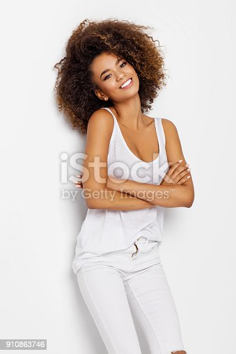 166407266istockphoto Beautiful african american female model 910863746