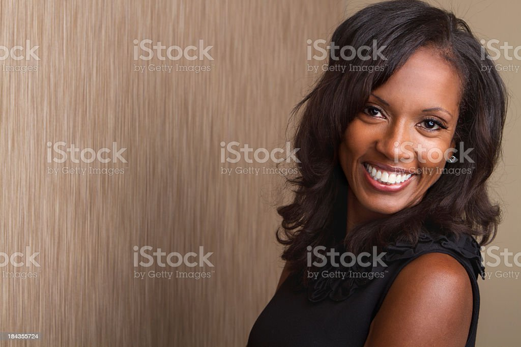 Beautiful African American Woman stock photo