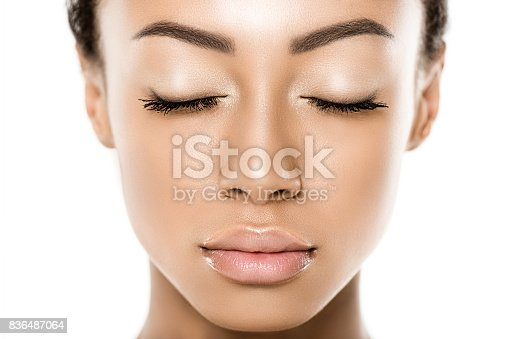 istock beautiful african american woman 836487064