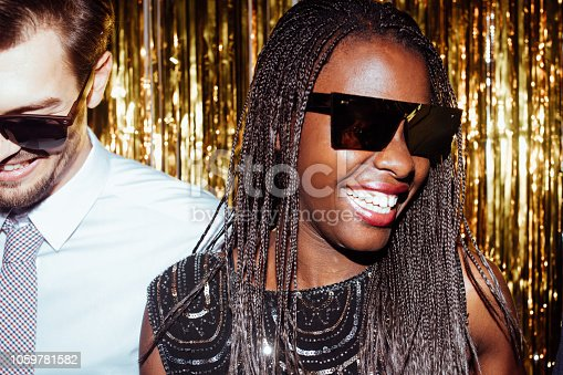 istock Beautiful African woman smiling 1059781582