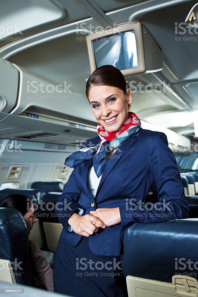 Wunderschöne air stewardess vereinbart werden – Foto