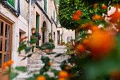 istock beautiful alley in Valldemossa oldtown 1269950429
