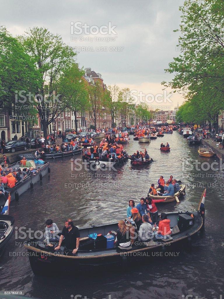 Schöne Amsterdam Lizenzfreies stock-foto