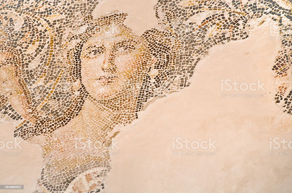 Beautiful Ancient Mosaic royalty-free stock photo