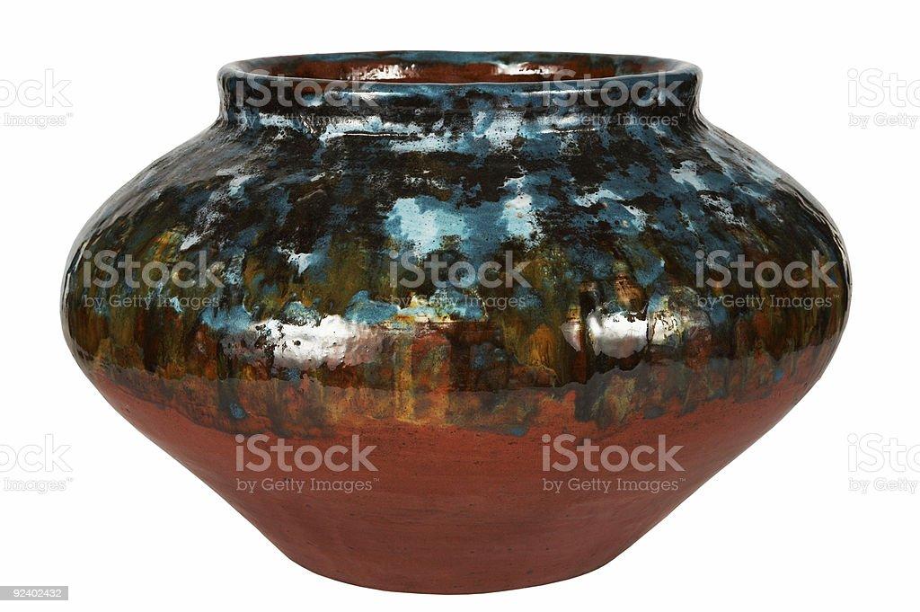 Beautiful ancient vase royalty-free stock photo