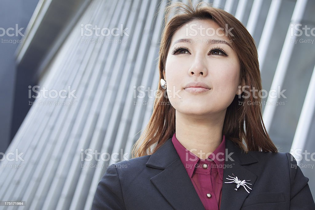 Beautiful And Confidence Businesswomen royalty-free stock photo