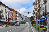 istock Beautiful and modern streets of a small European city of San Vicente de la Barquera, in northern Spain. Cantabria 1169209874