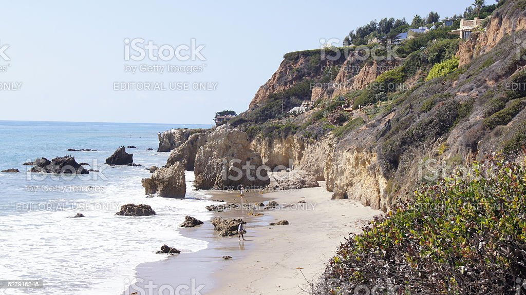 MALIBU, UNITED STATES - OCTOBER 9, 2014: Beautiful and romantic stock photo