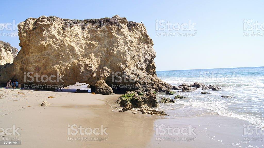 MALIBU, UNITED STATES - OCTOBER 9, 2014: Beautiful and romantic stock photo