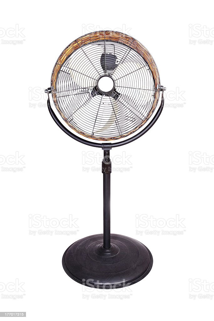 Beautiful and simple fan for photography stock photo