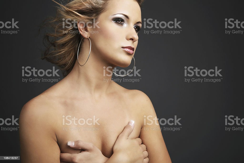 Beautiful and young. royalty-free stock photo