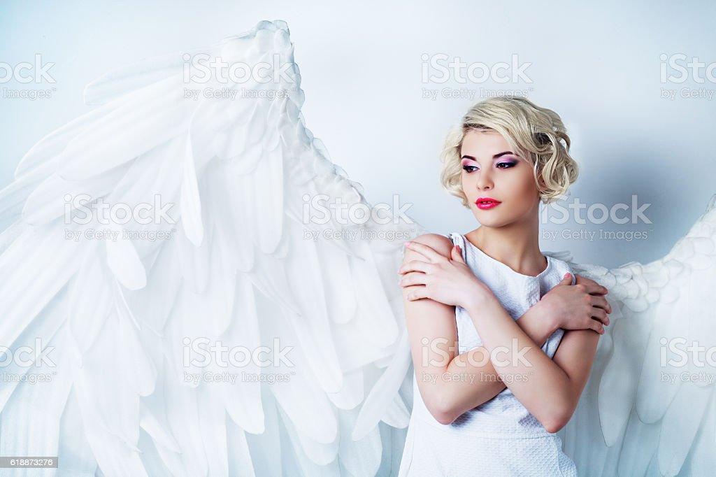 Schöne angel  – Foto