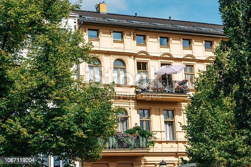 Beautiful balcony in Berlin