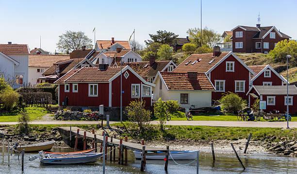 Beautiful archipelago of Gothenburg - Sweden. – Foto