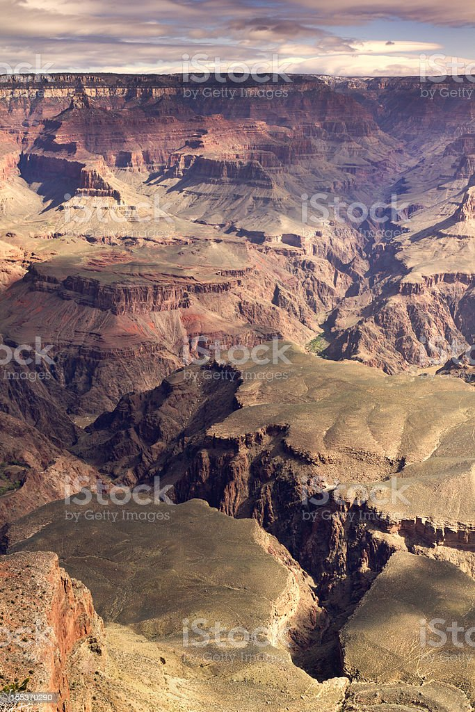 Beautiful Arizona Grand Canyon National Park Scenic Landscape View royalty-free stock photo
