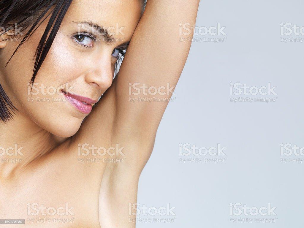 Beautiful aroma stock photo