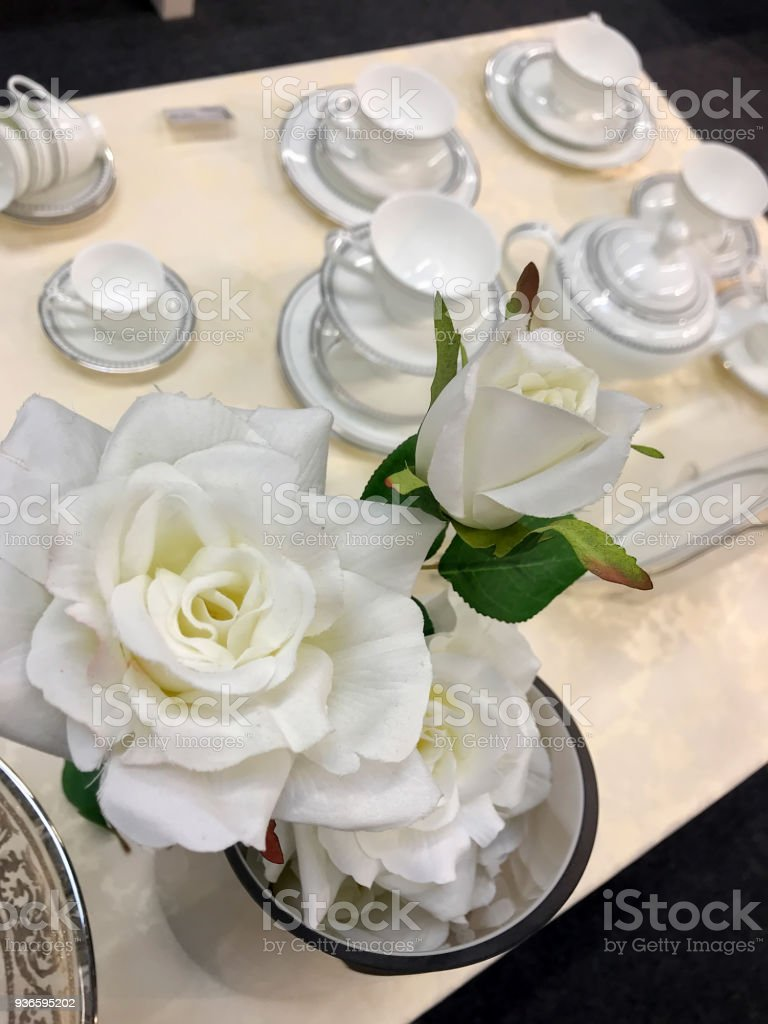 Beautiful Artificial Flowers Stock Photo More Pictures Of Abstract