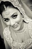 istock Beautiful Asian bride 456854327