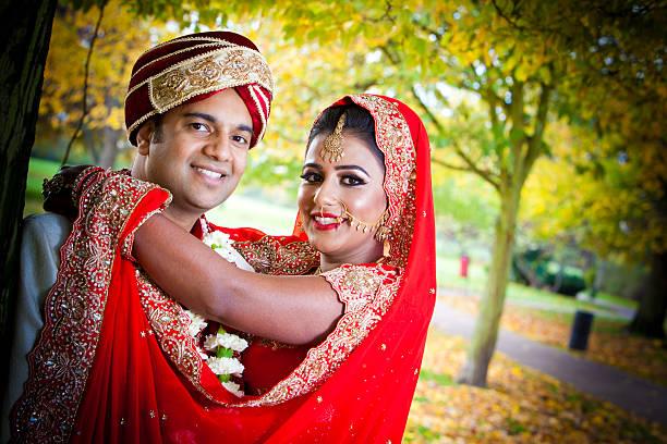 Beautiful Asian couple stock photo