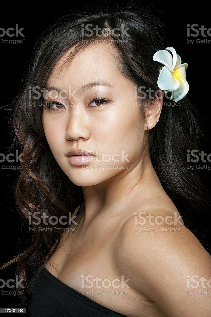 Beautiful Asian Woman royalty-free stock photo