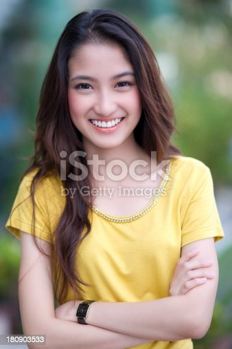 istock Beautiful asian woman 180903533