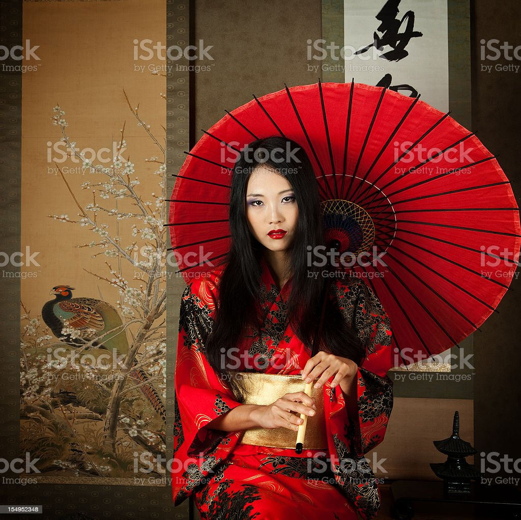 Of Beautiful Asian Woman Photographing