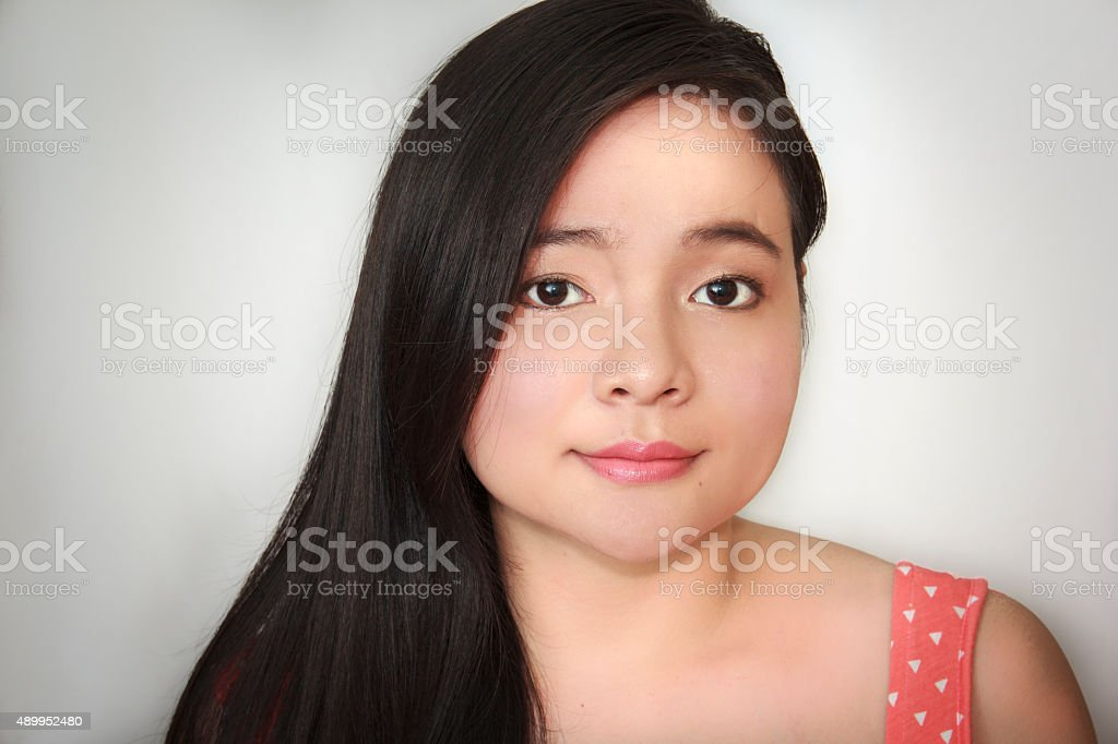 Beautiful Asian young woman - Royalty-free 20-29 Years Stock Photo