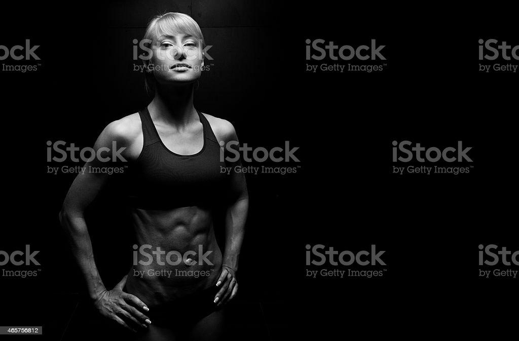 Belle femme de sport - Photo
