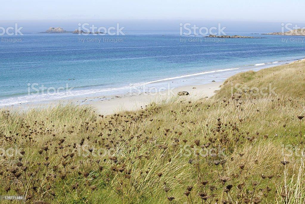 beautiful atlantic beach royalty-free stock photo